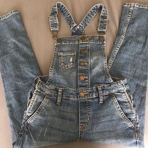 Girls GAP Overalls Size (7) Regular